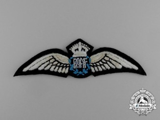 A Second War Royal Australian Air Force (RAAF) Pilot Badge