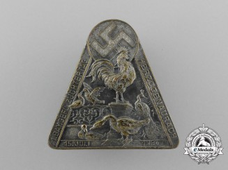 """A 1934 """"Day of Bavarian Poultry Farmers"""" Badge"""