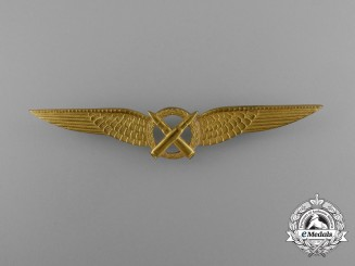A Royal Netherlands Army Air Air Gunner Qualification Badge
