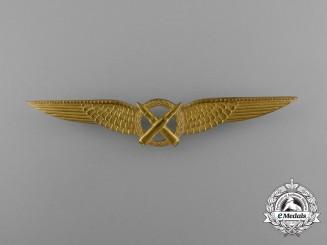 A Royal Netherlands Army Air Air Gunner Qualification Badge
