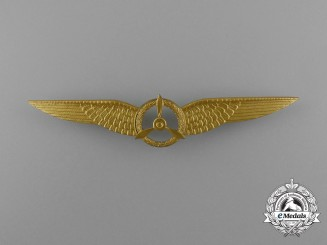 A Royal Netherlands Army Air Flight Mechanic Qualification Badge