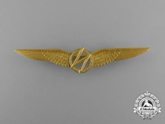 A Royal Netherlands Army Air Radio Operator/Navigator Qualification Badge