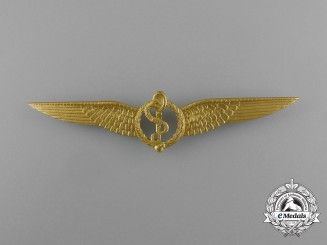 A Royal Netherlands Army Air Flight Surgeon Qualification Badge