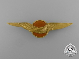 A Royal Netherlands Army Air Pilot Qualification Badge