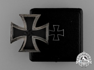 An Iron Cross 1939 First Class by Zimmermann in its Original Case of Issue