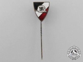 A Rare Deutsche Wehr Home Defense League Membership Stick Pin