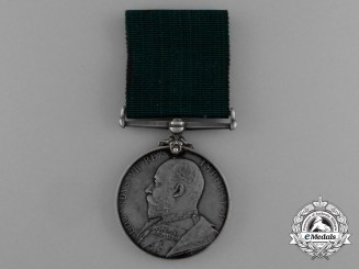 A Colonial Auxiliary Forces Long Service Medal to the 2nd Regiment of Infantry