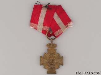 Danish 16 Year Long Service Cross