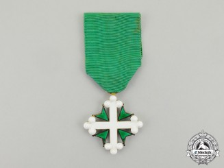 Italy, Kingdom, An Order of St. Maurice, Knight