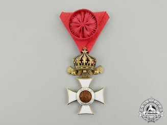 Bulgaria, Kingdom. An Order of St. Alexander; 4th Class with Case