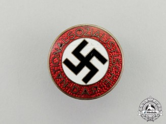 An NSDAP Membership Badge by Steinhauer & Lück of Lüdenscheid
