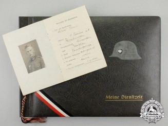 A Photo Album & Militäpaß to Adolf Fenn of the 15th Infantry Regiment of Eisenarch
