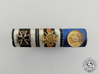 A First War German Long Service Medal Ribbon Bar
