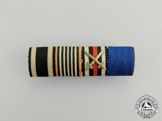 A First War German War Effort Cross Medal Ribbon Bar