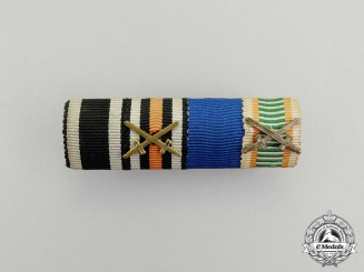 A First War German Medal Ribbon Bar