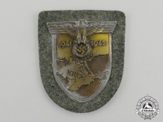 A Wehrmacht Heer (Army) Issue Krim Campaign Shield