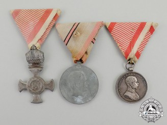 Austria, Empire. Three Second War Awards