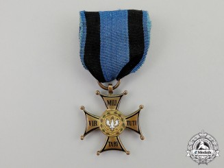 Poland. An Order of Virtuti Militari, 4th Class