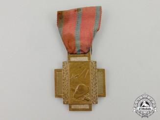 Belgium. A First War Frontline (Fire) Service Cross 1914-1918, Type I