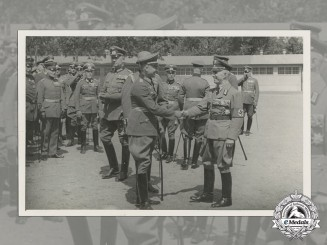Germany, Heer. A Period Photo of Group of Highly Decorated Officers