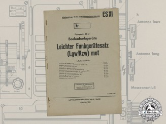 A 1941 Luftwaffe Signals Radio Training Manual