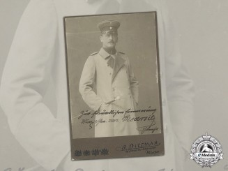 A Signed Studio Portrait of Bavarian Major General Max Freiherr von Redwitz