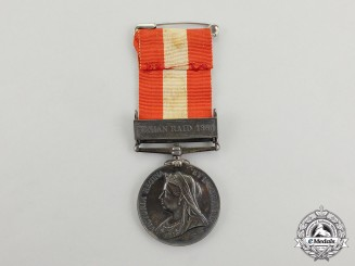 A Canada General Service Medal, to Private Peter Arnott, Peterborough Infantry Company