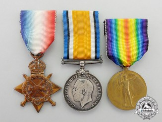 A First War Trio, to Lance Corporal (later Sergeant) Albert Shingleton, Middlesex Regiment