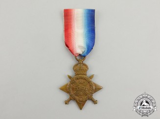 A First War British 1914 Star to Private Nelson Victor Turner, Army Ordnance Corps