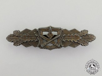 Germany. A Bronze Grade Close Combat Clasp, by C. E. Juncker of Berlin