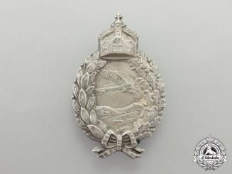 A First War Prussian Pilot's Badge by C. E. Juncker of Berlin