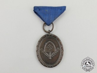 A RAD (Reichs Labour Service) Long Service Award for Men; 4th Class Light Version