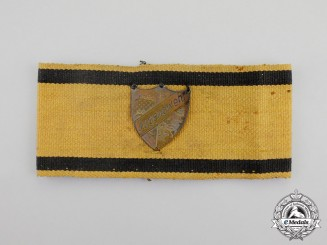 "A Second War German ""Youth Defence"" Member's Armband"