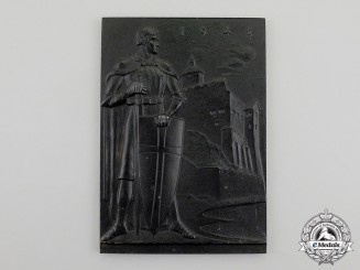 A 1942 Peter Lipp New-Years Plaque