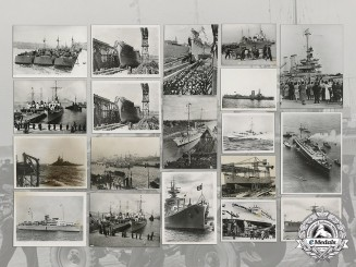 57 German Kriegsmarine Propaganda Press Photos