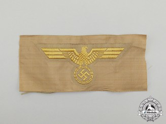A Mint and Unissued Second War German Kriegsmarine Tropical Breast Eagle