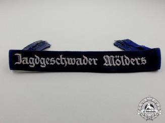 """A German Luftwaffe Jagdgeschwader 51 """"Mölders"""" Cuff Title"""