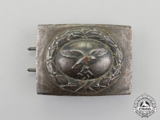 A 1940 Pattern Luftwaffe EM/NCO's Service Belt Buckle
