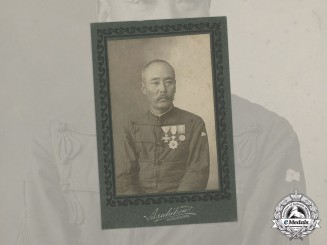 Japan. A First War Naval Officer's Photograph