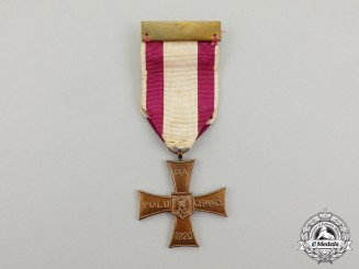 Poland. A Cross of Valor; Second War Type