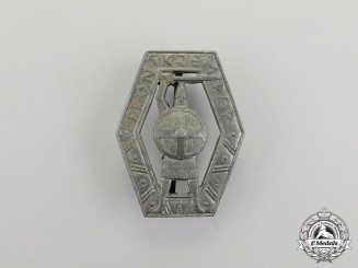 """Norway. A Waffen-SS Volunteer """"Frontjemper"""" Badge"""