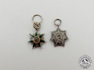 Turkey. Two Ottoman Empire Miniature Orders