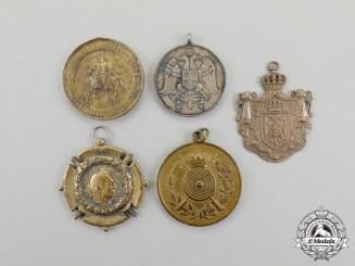 Serbia. Five Awards and Decorations