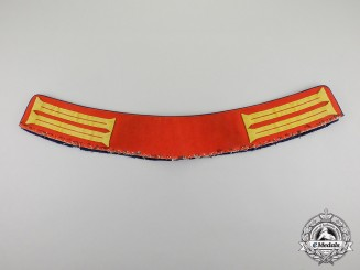 "Germany. A First War Period Imperial Guard Regiment Enlisted Man ""Waffenrock"" Collar"