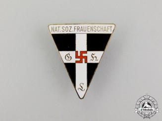 A National Socialist Women's League Staff Badge (Frauenschaft Mitarbeiter Abzeichen)