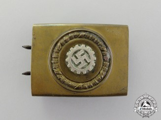 A Field Made Belt Buckle of The German Labour Front (Deutsche Arbeitsfront, DAF)