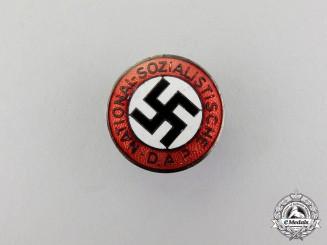 An NSDAP Membership Badge; RZM Marked