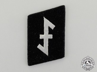 "Germany, SS. A 23rd SS-Freiwilligen Panzer Grenadier Division ""Nederland"" Officer's Collar Tab"