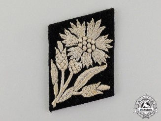 A Single Waffen-SS 22nd Freiwilligen Cavalry Maria Theresia Division Collar Tab