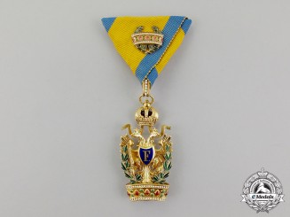 Austria, Imperial. An Order of the Iron Crown in Gold, 3rd Class with War Decoration, by Rothe, c.1910